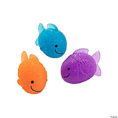 Fish-Shaped Bouncy Balls