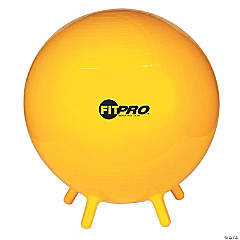 FitPro Ball with Stability Legs, 65cm, Yellow