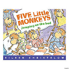 """""""Five Little Monkeys Jumping on the Bed Big Book"""""""
