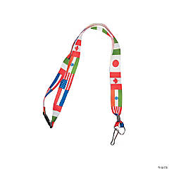 Flag of All Nations Lanyards