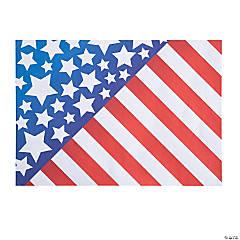 Flag Paper Placemats