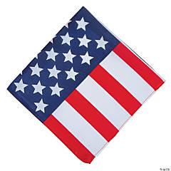 Flag Print Bandana