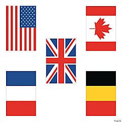 Flags of All Nations Cutouts