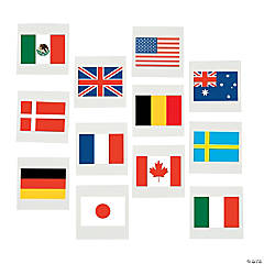 Flags of All Nations Tattoos