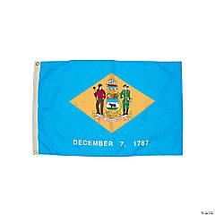 FlagZone Durawavez Nylon Outdoor Flag with Heading & Grommets - Delaware, 3' x 5'