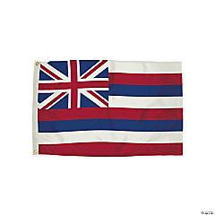 FlagZone Durawavez Nylon Outdoor Flag with Heading & Grommets - Hawaii, 3' x 5'