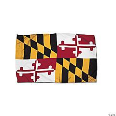 FlagZone Durawavez Nylon Outdoor Flag with Heading & Grommets - Maryland, 3' x 5'