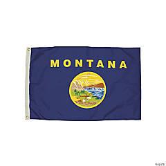 FlagZone Durawavez Nylon Outdoor Flag with Heading & Grommets - Montana, 3' x 5'