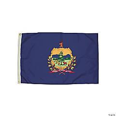 FlagZone Durawavez Nylon Outdoor Flag with Heading & Grommets - Vermont, 3' x 5'