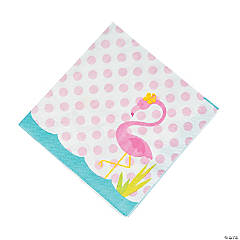 Flamingo Luncheon Napkins