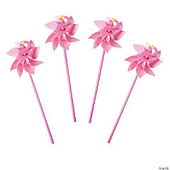 Flamingo Pinwheels - 36 Pc.