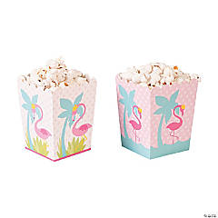 Flamingo Popcorn Boxes