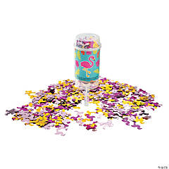 Flamingo Push-Up Confetti Poppers