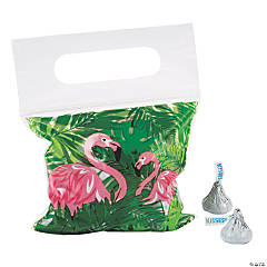 Flamingo Resealable Treat Bags