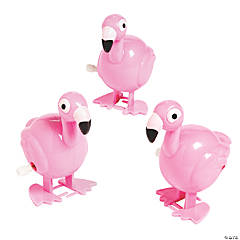 Flamingo Wind-Up Characters