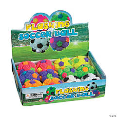 Flashing Puffer Soccer Balls