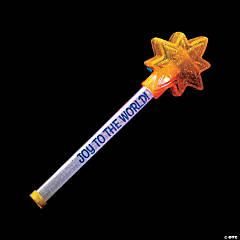 Flashing Religious Star Light Sticks