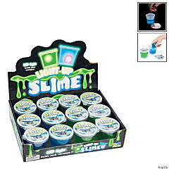 Flashing Slime Containers