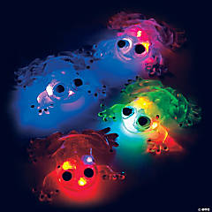 Flashing Squishy Frogs with Beads PDQ