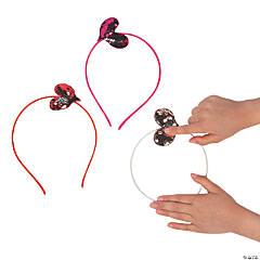 Flipping Sequin Heart Headbands