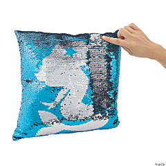 Flipping Sequin Mermaid Pillow
