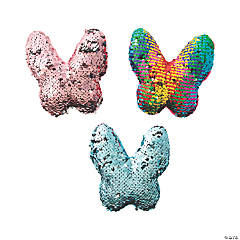 Flipping Sequin Stuffed Butterflies