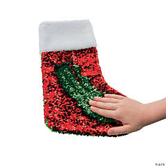 Flipping Sequins Christmas Stocking