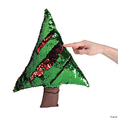 Flipping Sequins Plush Christmas Tree