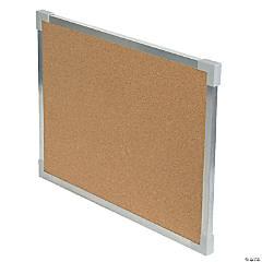 "Flipside Aluminum Framed Cork Board, 18"" x 24"""