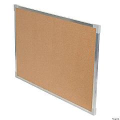 "Flipside Aluminum Framed Cork Board, 24"" x 36"""