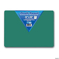 """Flipside Chalk Board, 24"""" Width, 36"""" Length, Green"""