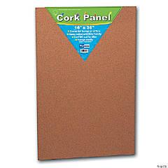 "Flipside Cork Panel, 16"" x 36"", Pack of 2"
