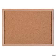 """Flipside Wood Framed Cork Board, 18"""" x 24"""""""