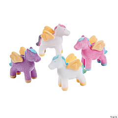 Flocked Mythical Ponies