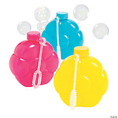 Floral-Scented Flower Bubble Bottles