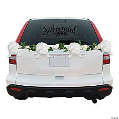 Floral Wedding Car Parade Decorating Kit
