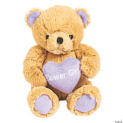 Flower Girl Stuffed Teddy Bear