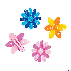 Flower Hair Clip Assortment