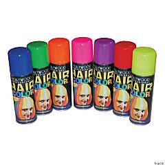 Fluorescent Yellow Hairspray
