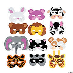 Foam Animal Masks