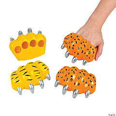 Foam Animal Paw Gloves