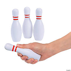 Foam Bowling Pin Stress Toys