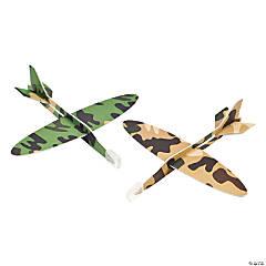 Foam Camouflage Gliders