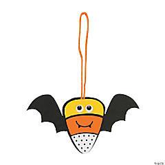 Foam Candy Corn Bat Ornament Craft Kit