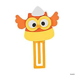 Foam Candy Corn Owl Bookmark Craft Kit