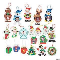 Foam Christmas Ornament Craft Kit Assortment
