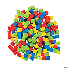 Foam Counting Cubes