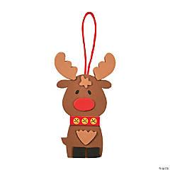 Foam Cute Reindeer Ornament Craft Kit