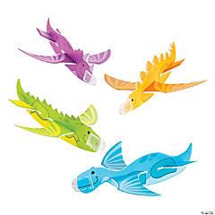 Foam Dinosaur Gliders