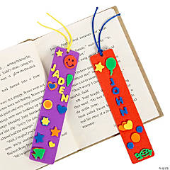 Foam DIY Bookmarks